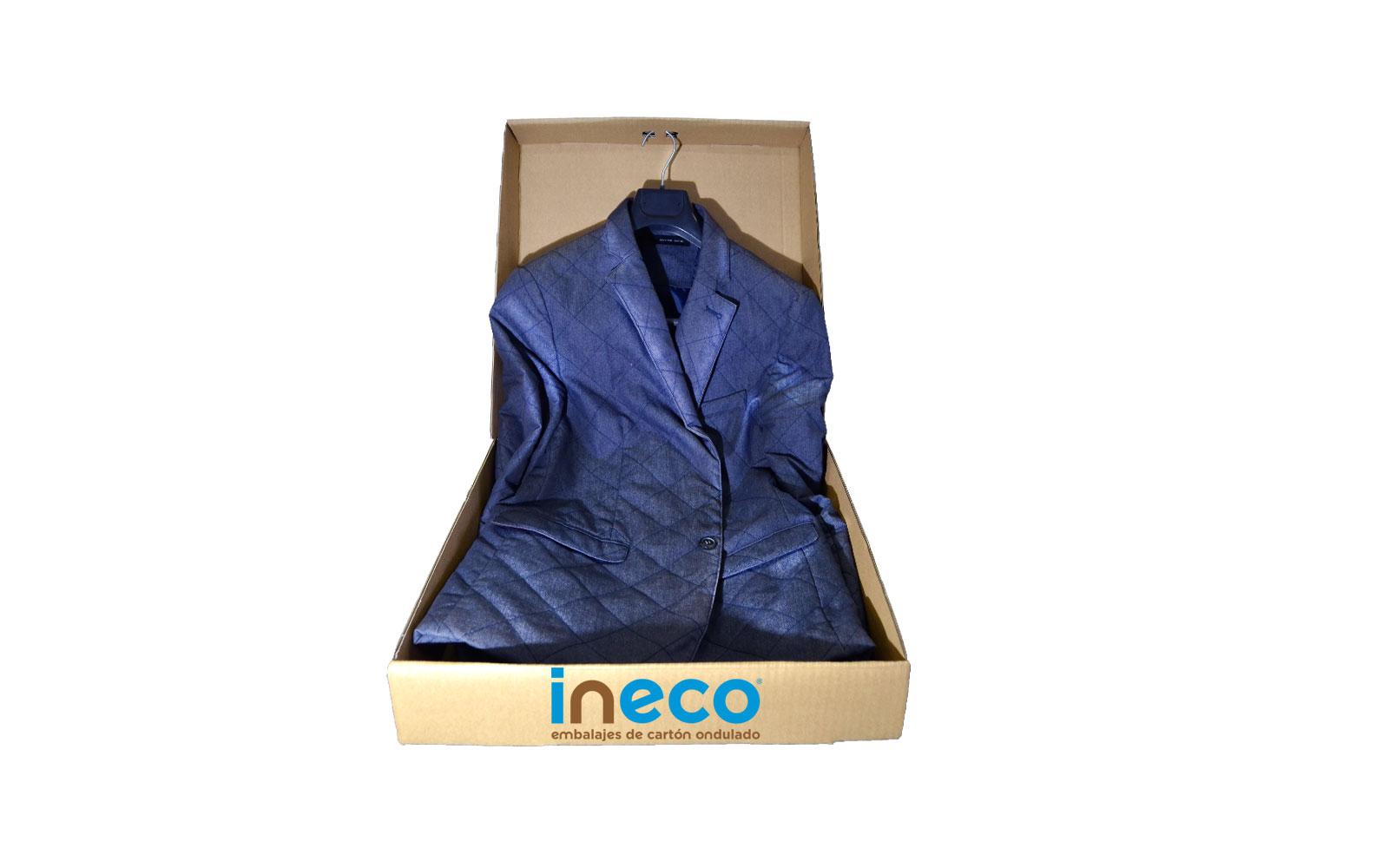 Caja modelo H para la ropa