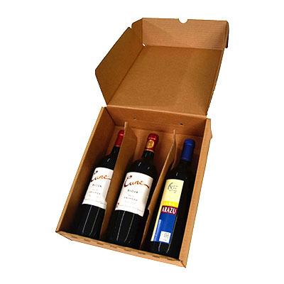 Caja de vino para regalar