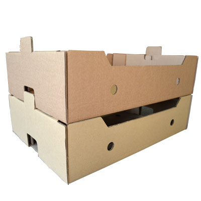 Caja para fruta y alimentación