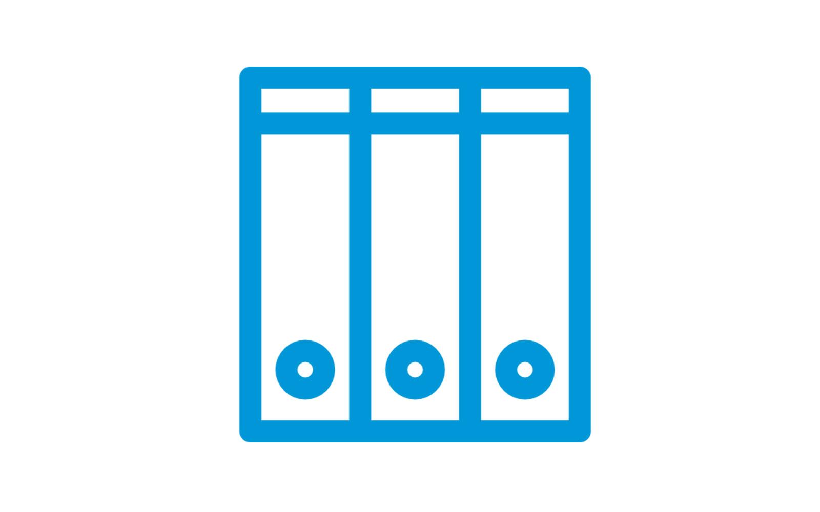Caja para archivos y orden