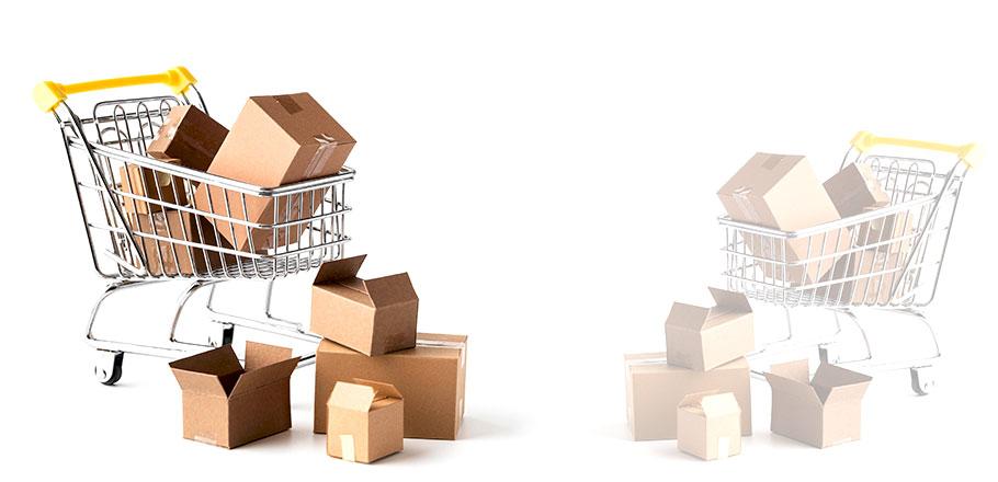 Cajas para tienda online