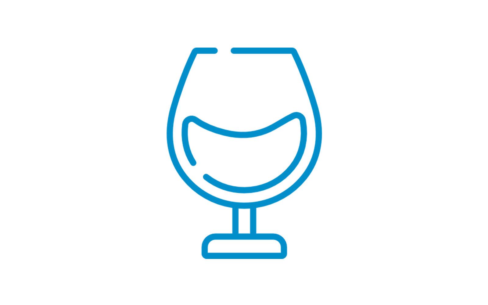Caja para copas y vasos
