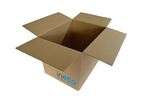 Caja de cartón - Fondo automático
