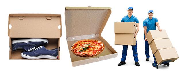 Usos y aplicaciones de las cajas de cartón