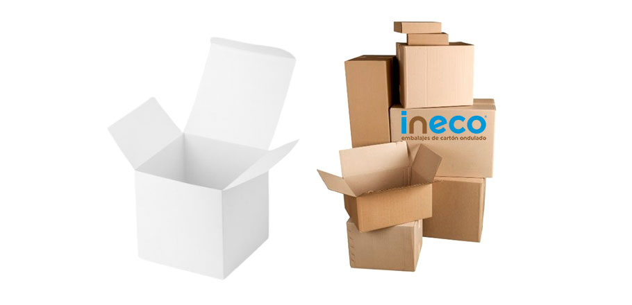 Venta de cajas con solapa